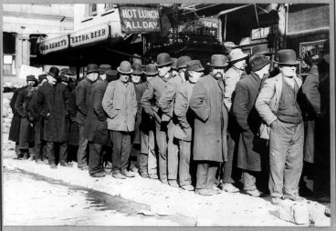 men-in-bread-line