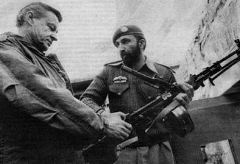 Zbigniew Brzezinski with Osama Bin Laden
