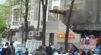В Одеса са подпалили и Българския културен център
