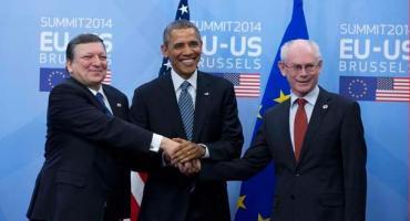 Barack Obama, Jose Manuel Barroso, Herman Van Rompuy