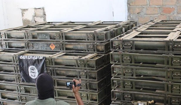Syria-Ammunition-Seized-by-IS-at-Brigade-121-Hasakah