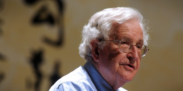 Noam Chomsky Lectures At Peking University