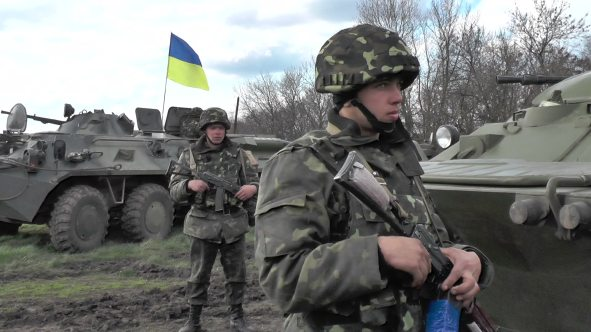 stock-footage-izum-ukraine-april-ukrainian-army-during-anti-terrorist-operations-in-the-east-of