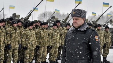 Ukrainian president Petro Poroshenko visits Zhitomir Region