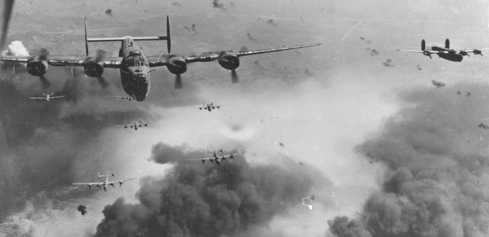 b-24ds_fly_over_polesti_during_world_war