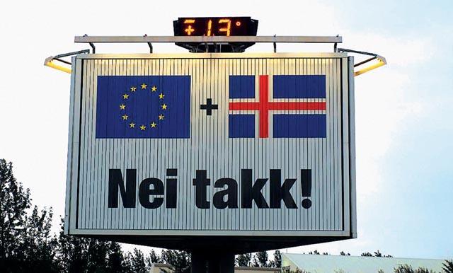 Защо Исландия се отказа от Европейския съюз?