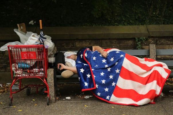 BESTPIX  Homelessness Reaches All-Time Record In New York City